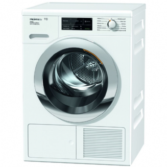MieleTCJ680 WP Eco&Steam WiFi&XL T1 Heat-pump tumble dryer with SteamFinish, 1-9 kg load and WiFiCon